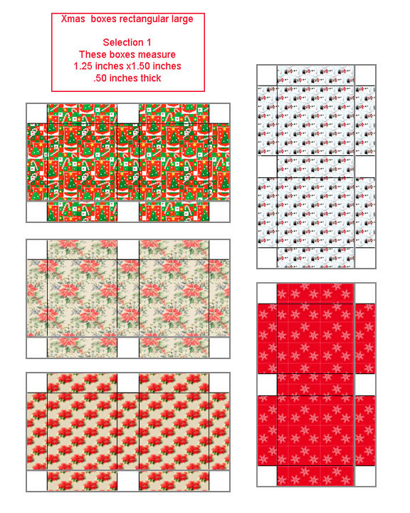 Small Christmas Gift Boxes - Oriental Trading - Discontinued |Tiny Christmas Boxes