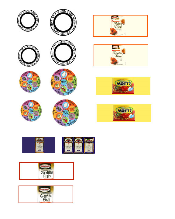 photo relating to Printable Miniatures known as No cost Printable Dollhouse Jewish Food stuff
